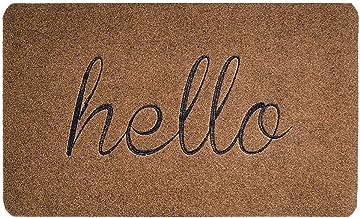 BIGA Front Door Mat: Entrance Welcome Mat| Sturdy, Durable, Biodegradable 30嚢18 Indoor/Outdoor Hello Mat| Easy To Clean Do...