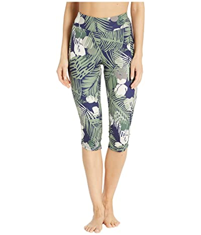 Royal Robbins Jammer Knit Knickers (Ink Blue Print) Women