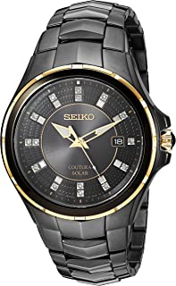 seiko men's diamond watches