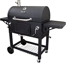 Dyna-Glo DGN576DNC-D Premium Charcoal Grill, Extra Large, Black
