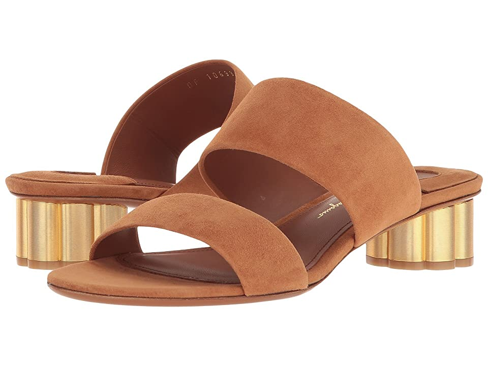 Salvatore Ferragamo Belluno Mule Sandal (Sella) High Heels