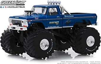 GreenLight 1: 43 Kings of Crunch - Bigfoot #1 The Original Monster Truck (1979) - 1974 Ford F-250 Monster Truck (with 66