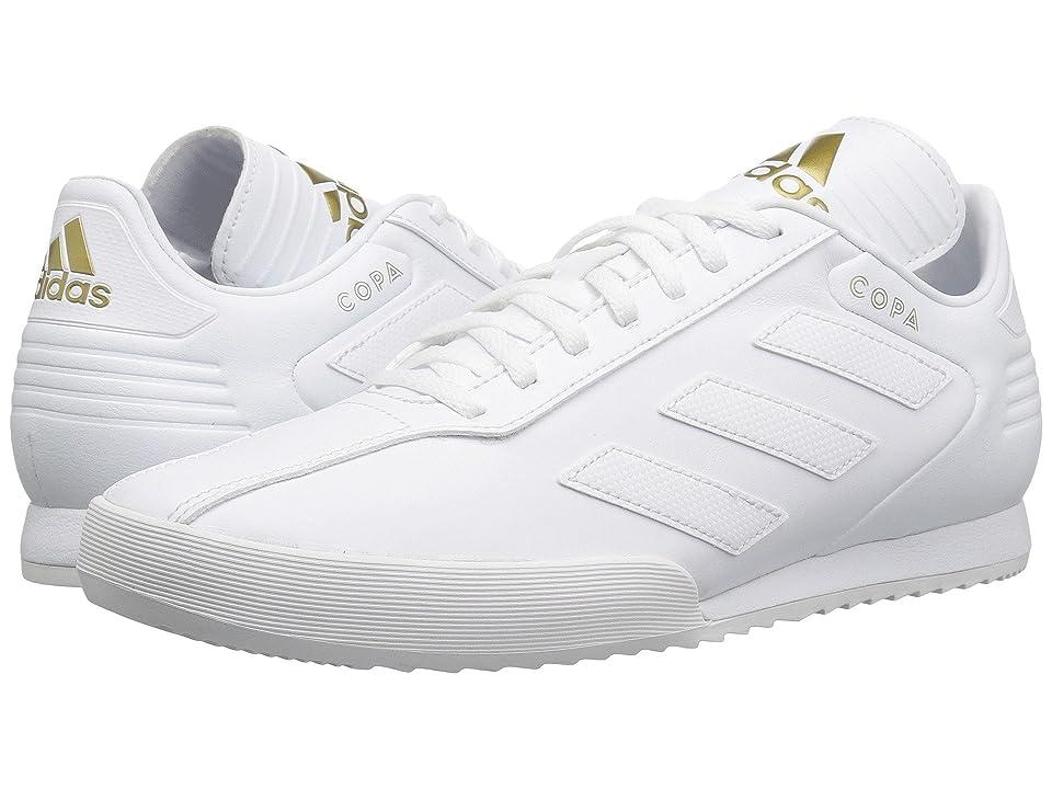 adidas Copa Super (White/White/Gold Metallic) Men