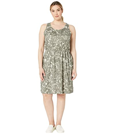Prana Plus Size Mandoline Dress (Slate Canopy) Women
