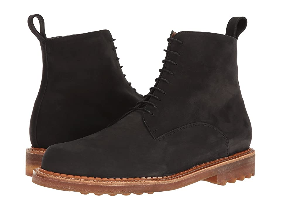 Clergerie Dace Boot (Black Suede) Men