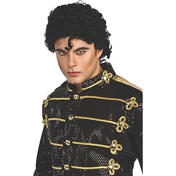 Michael Jackson Curly Thriller Wig [Toy] (peluca): Amazon.es ...