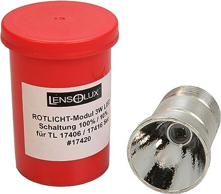 Lensolux Rotlicht-Modul 3W LED für Taschenlampe 3W Cree B0196J6FF4     | Erlesene Materialien