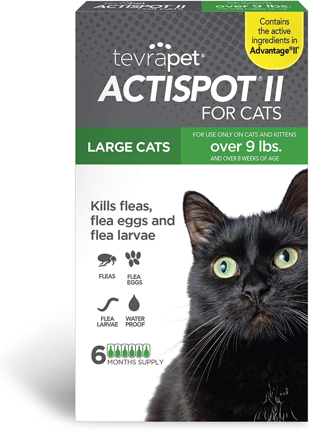 TevraPet Actispot Max 86% OFF Cheap mail order sales II Flea Prevention doses Cats- 6 for