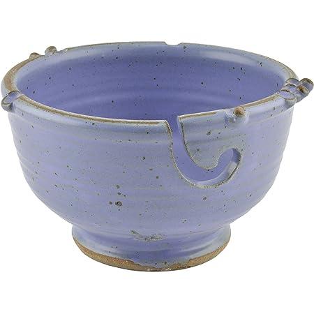 Anthony Stoneware Handmade Yarn Bowl Teal Green