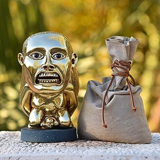 LaRetrotienda - Indiana Jones réplica idolo de la fertilidad CON OJOS + BASE + BOLSA DE ARENA!!!
