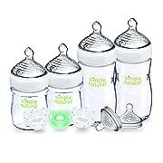 NUK Simply Natural Baby Bottle Newborn, 5 Ounce & 9 Ounce (Set)
