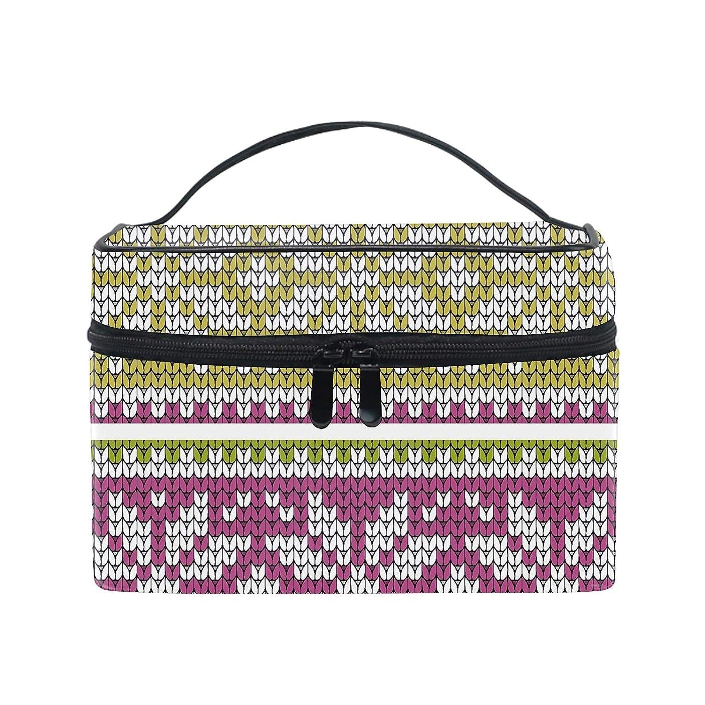 ニュージーランド一貫した聖なる織りパターン化粧品収納 小物入れ 軽量 防水 旅行も便利 かわいい おしゃれ キャリーケース