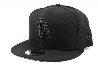 NEW ERA (ニューエラ) キャップ MLB スナップバック 9FIFTY BLACK ON BLACK ナショナルリーグ