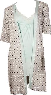 طقم ثوب النوم النسائي المكون من قطعتين - صغير حتى 3XL