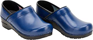 Sanita Professional Izabella Closed Clog | Original Handmade Flexible Leather Clog for Women | Maximum stability | Anatomi...