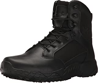 black uniform boots