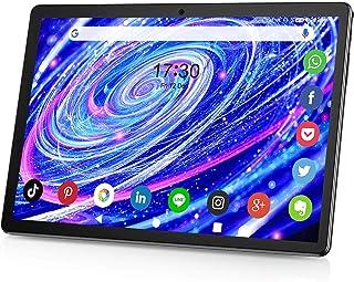 タブレット10.1インチ3G電話タブレットデュアルSIM 32GB ROM 128GB拡張 Android 9.0タッチスクリーンタブレットHD 6000mAhバッテリー 5MPデュアルカメラ WiFi Bluetooth GPS Google...