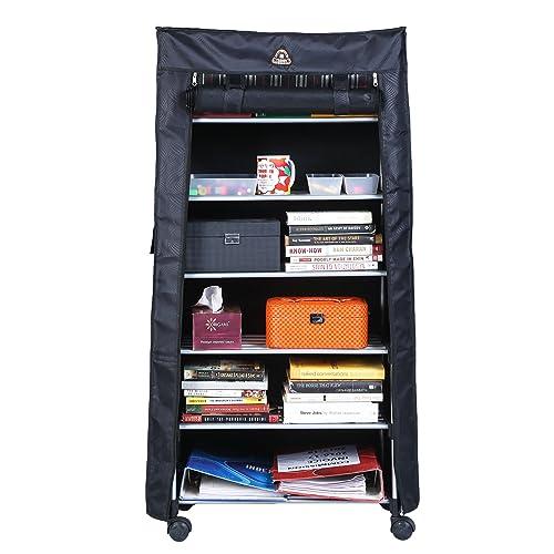 Blyssware® 6 Shelf Shoe Rack with Cover Space Saving Shoe Storage Organizer Shoe Shelf/Shoe Cabinet - (CP-1597-TRDYRK-6SF-A)