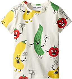 mini rodini - Veggie All Over Print Short Sleeve T-Shirt (Infant/Toddler/Little Kids/Big Kids)