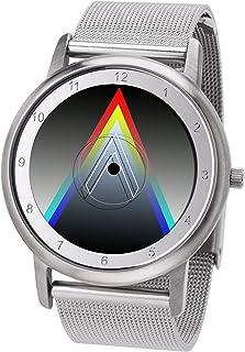 Avantgardia Vee - Reloj de pulsera, unisex, con caja de acero inoxidable, diseño nuevo