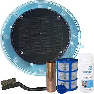 Solar Pool Maid Ionizer, Floating Water Cleaner and Purifier, Keeps Water Clear and Free of Algae & Bacteria, Chlorine Fre...