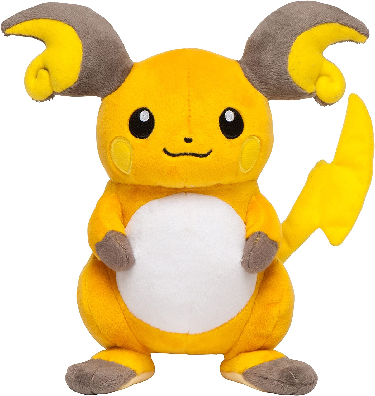 Pokemon Center Original 7 1 2 Inch Raichu OA Plush Doll