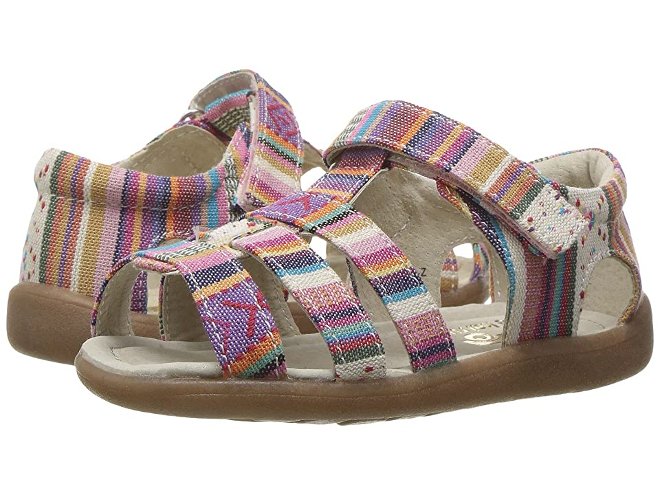 See Kai Run Kids Fe (Toddler) (Multi Stripe) Girls Shoes