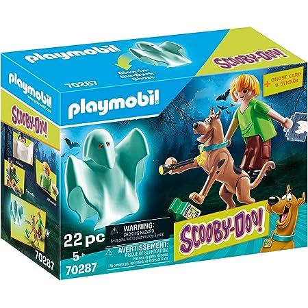 Playmobil Scooby-DOO Scooby & Shaggy con Fantasma