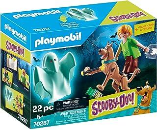 PLAYMOBIL-Scooby-Doo, Scooby & Shaggy con Fantasma (70287)