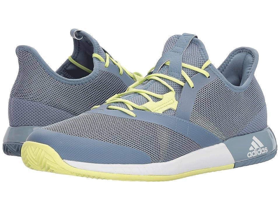 adidas adizero Defiant Bounce (Raw Grey/White/Frozen Yellow) Men