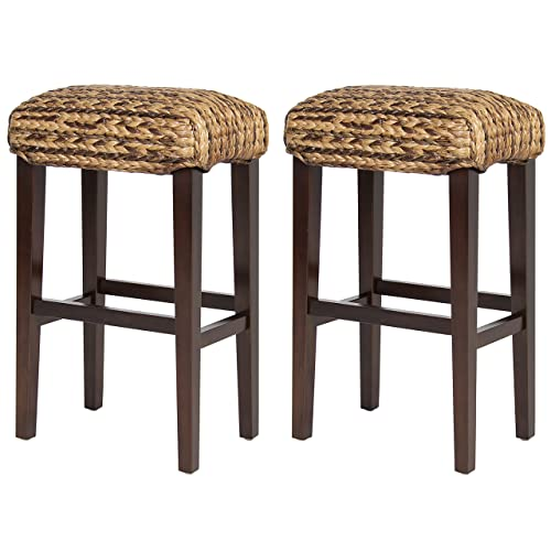 Excellent Woven Bar Stool Amazon Com Short Links Chair Design For Home Short Linksinfo