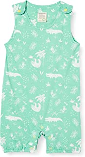 loud + proud Short Romper Allover Print Organic Cotton Ghette Bimba