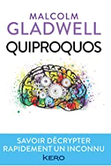 Quiproquos Format Kindle