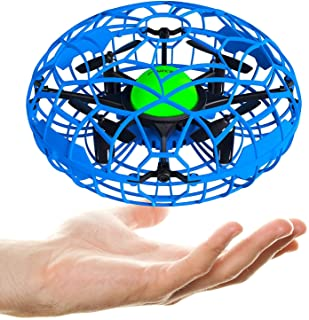 Force1 Scoot XL Hand Operated Drones for Kids - UFO Mini Kids Drone, Beginner Flying Toys for Boys and Girls (Blue)