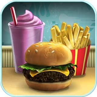 burger cooking shop games