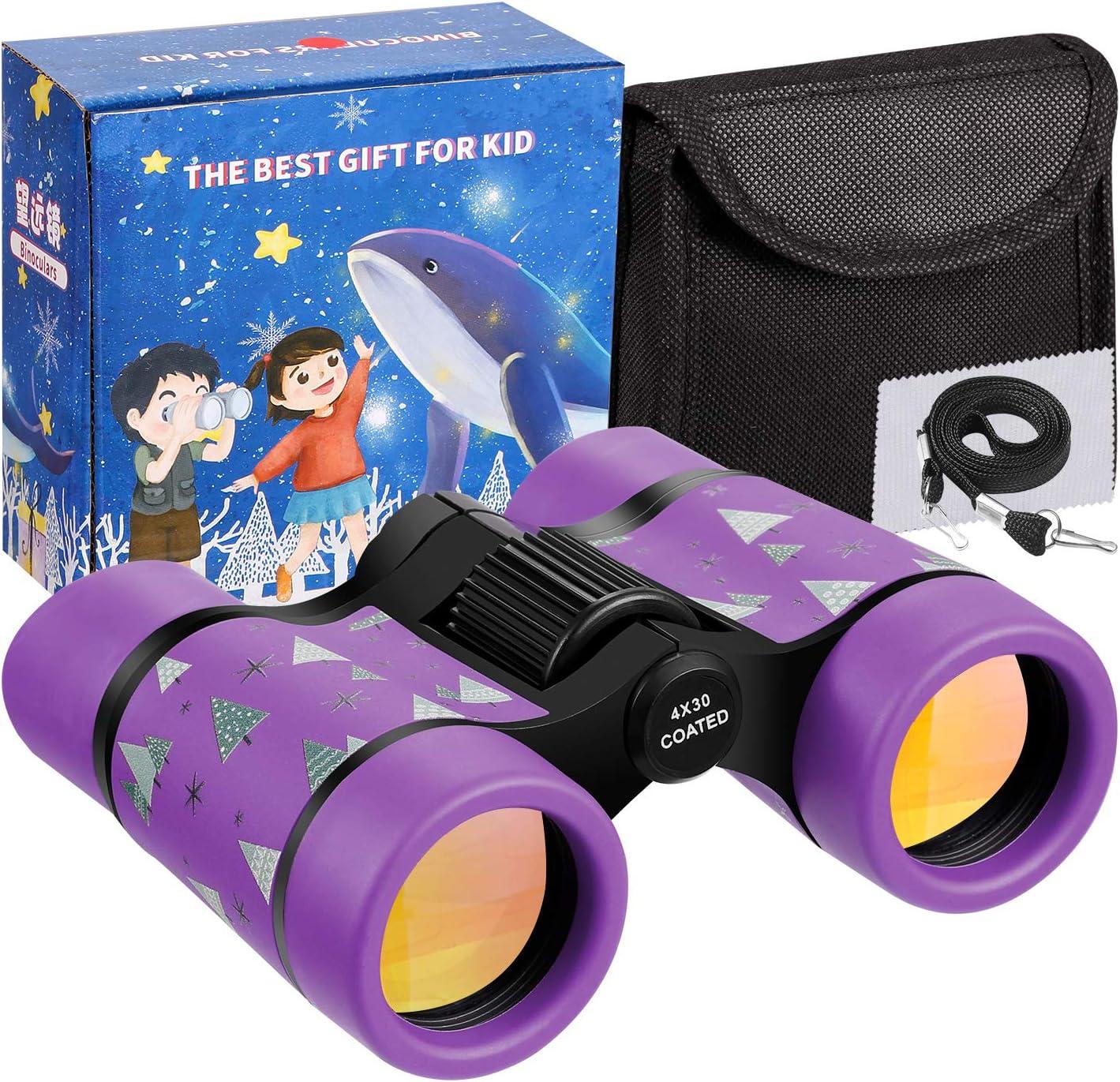 Details about  /Kid Binoculars 8x30 Binoculars for Kids Bird Watching Educational Learning BLUE