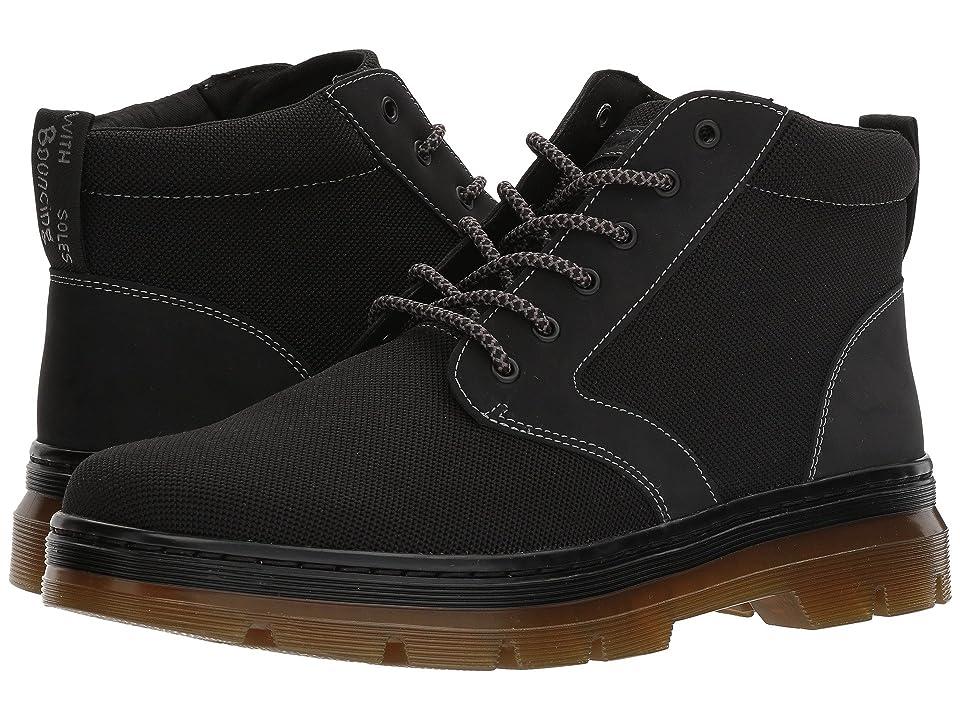 Dr. Martens Bonny II (Black K Tech Knit/Black Cascade Split) Boots