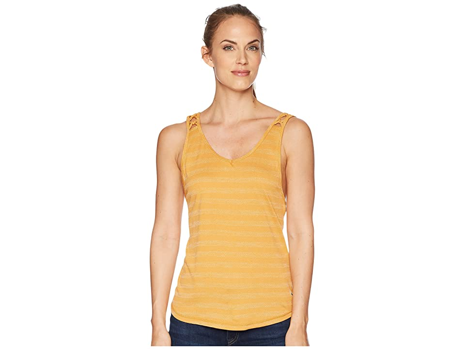 Prana Serene Tank Top (Golden Barrel) Women