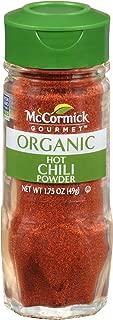 McCormick Gourmet Organic Hot Mexican Chili Powder, 1.75 oz