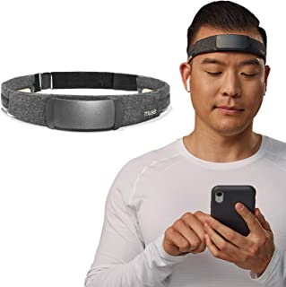 MUSE S: The Brain Sensing Headband - Overnight Sleep Tracker & Meditation Headset Device - Multi Sensor Monitor with Respo...