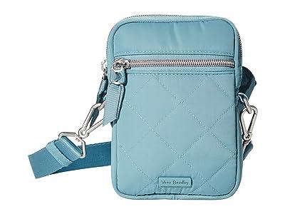 Vera Bradley Performance Twill RFID Convertible Small Crossbody (Blue Oar) Handbags