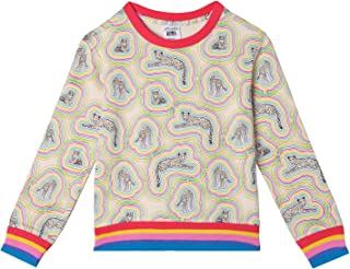 art & eden Girl's 100% Organic Cotton Sweatshirt