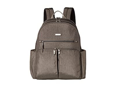Baggallini Here and There Laptop Backpack (Sterling Shimmer) Backpack Bags
