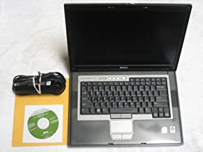 """Dell Latitude D820 15.4"""" Laptop with Dell Reinstallation XP Professional Disk (Intel Duo Core 1.83Ghz, 80GB Hard Drive, 20..."""