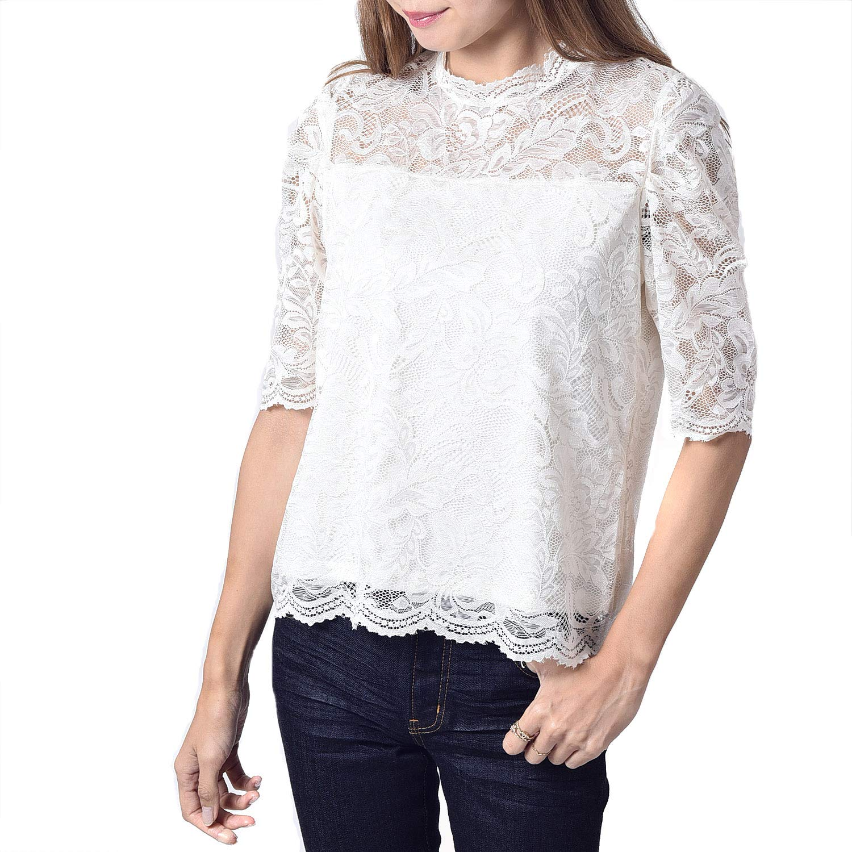 INVOLVE standneck pullover short sleeve (wis7266)