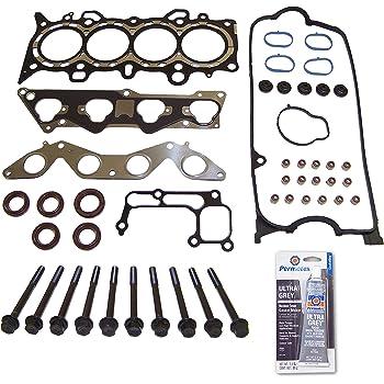 Head Gasket Set Head Bolt Kit Fits: 01-05 Honda Civic EX HX 1.7L VTEC D17A2 D17A6