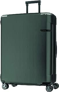 Samsonite 92055 EVOA Expandable Hard Side Spinner Suitcase, Brushed Black, 75 Centimeters