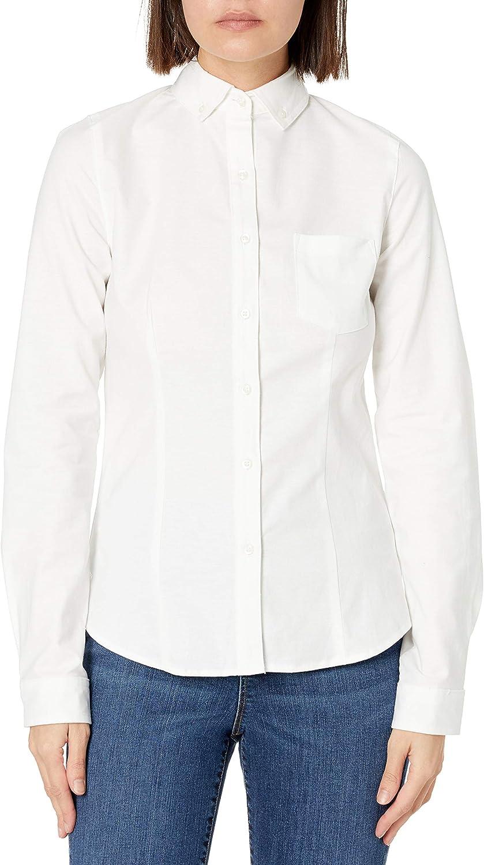 Lee Uniforms Juniors' Long-Sleeve Oxford Blouse