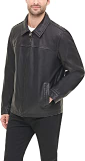Men's Faux Leather Jacket (Standard and Big & Tall)