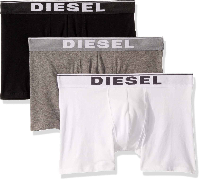 Diesel Men's Sebastianthreepac Boxer Long 3pack